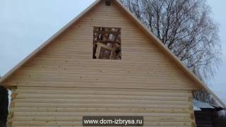 Сборка дома 6х6 из профилированного бруса(Видео от компании Золотые Руки. Заснято строительство дома 6х6 из бруса. Выполнен почти в плотную к старой..., 2016-11-01T13:39:00.000Z)
