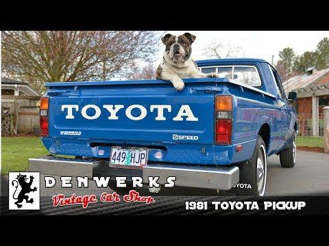 1981 Toyota Hilux N30 Pickup Survivor 83K Original Miles, DENWERKS