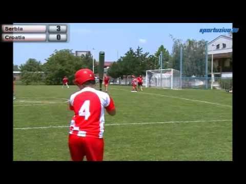 06.07.2014 Srbija - Hrvatska - Belgrade Trophy International - I place game