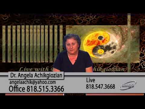 Live With Dr. Angela Achikgiozian  05 08 18