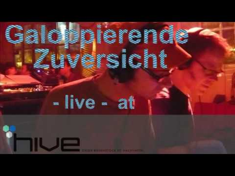Galoppierende Zuversicht @ Hive part1