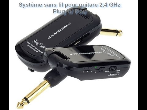 Harley Benton Airborne Wireless Guitar System V2