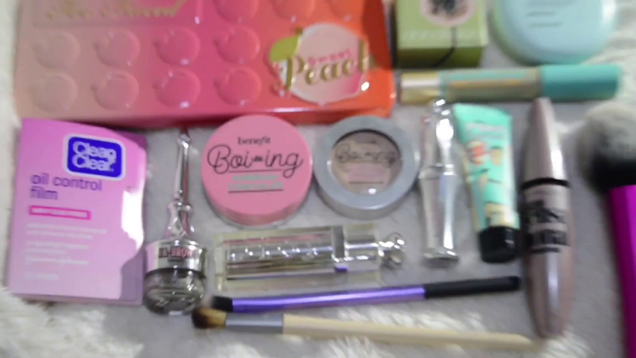 What's Inside My Makeup Kit ft. Benefit Cosmetics Ka-Brow (Philippines) | Aibhe Cabales