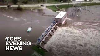 Michigan dam breaks force thousands to evacuate