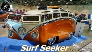 Incredible Surf Seeker 1965 VW Bus Scratch Built  Grand National Roadster Show Mustang Connection