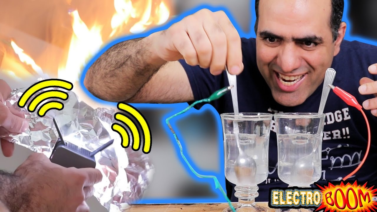 Internet Speed Boosting with Foil? Power Through WATER?!  LATITY006