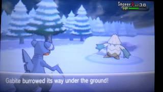 Pokemon x and y gabite evolves