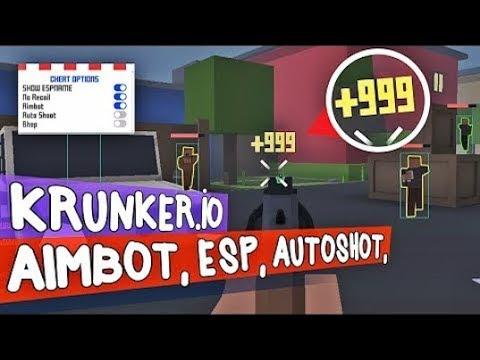 Krunker.io Aimbot Hacks (Aimbot+Wall Hack) 2019