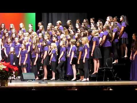 """Phoenixville Area Middle School 7th and 8th Grade Chorus: """"Sleigh Bells"""""""