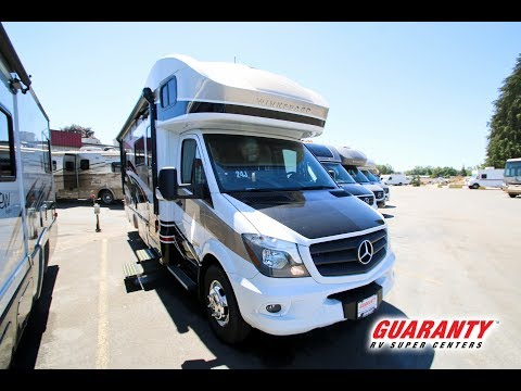 2018 Winnebago Navion 24 J Class C Diesel Motorhome Video Tour • Guaranty.com