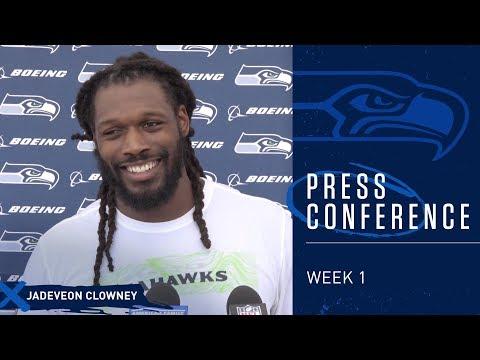 Defensive End Jadeveon Clowney Week 1 Press Conference | 2019 Seattle Seahawks