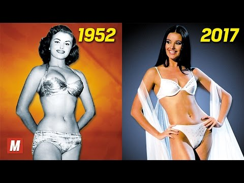 Evolution of Miss Universe |  From 1952 To 2017