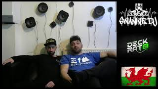Swankie DJ Live Stream #29 (Reverse Bass) Guest - The Deck Rat