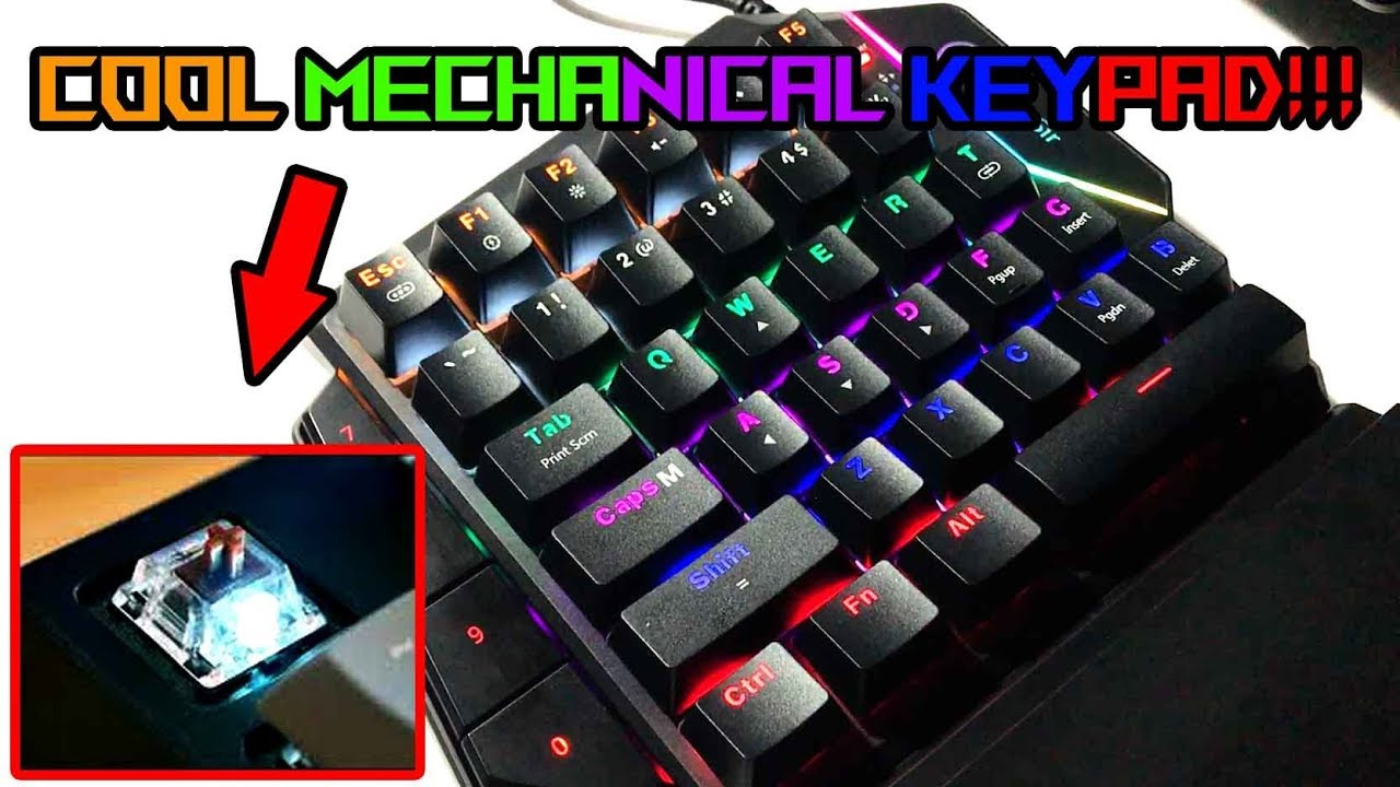 Unboxing And Review Gamesir Gk 100 Gaming Keypad Youtube