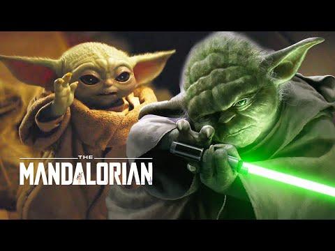 Star Wars The Mandalorian Baby Yoda Scene - Jedi Powers And Finale Theory