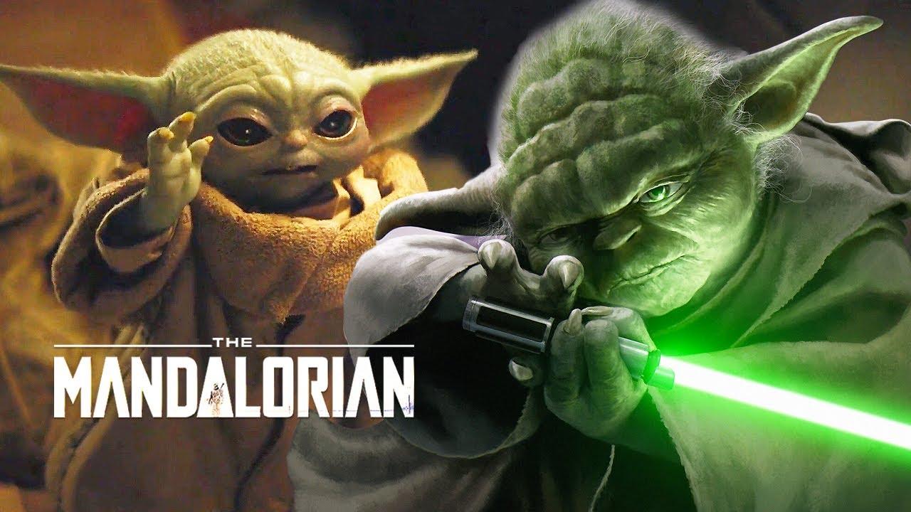 Star Wars The Mandalorian Baby Yoda Scene Jedi Powers And Finale Theory Youtube