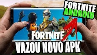 Came out the Fortnite apk on Android come download before the Epic Games ban on the channel