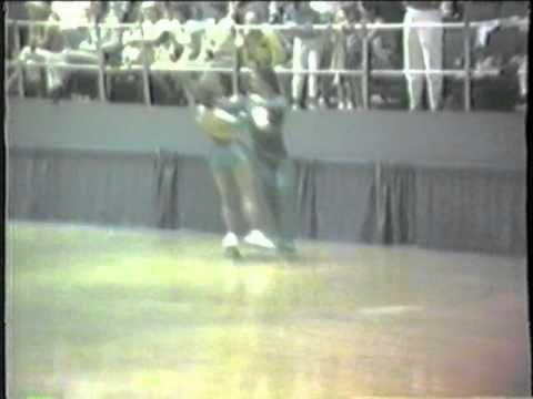 1984 Southwest Regional Roller Skating Championships - Senior Dance Final - Viennese Waltz