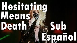 The GazettE - Hesitating means Death - Sub Español.