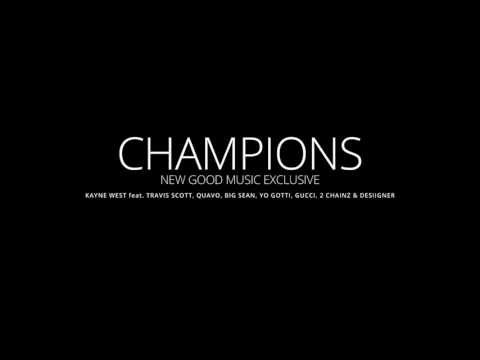 Kanye West - Champions (Round & Round) Cruel Winter Drop