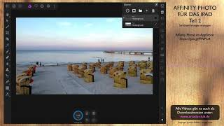 Affinity Photo für das iPad - Teil 2 - Strichzeichnungen