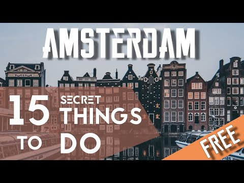 15 FREE Secret Places In Amsterdam   Netherlands Travel Vlog