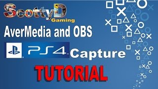 How to / Tutorial: Avermedia with OBS to capture PS4 gameplay. (Inc. mic and multi track audio info)