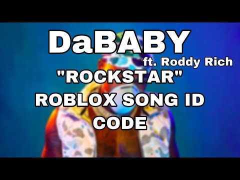 roblox rockstar song id