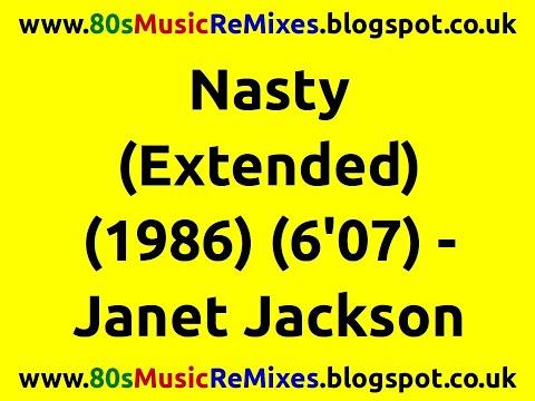 Nasty (Extended) - Janet Jackson   80s Club Mixes   80s Club Music   80s R&B Hits   80s R&B Mix