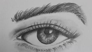 eye easy pencil draw realistic
