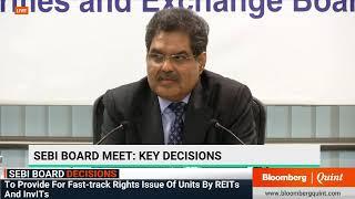 SEBI Chairman Ajay Tyagi Addresses Media