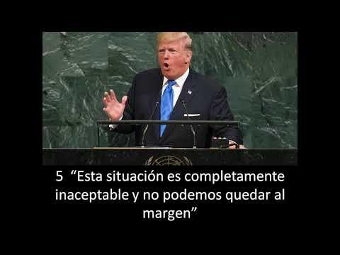 FILOSOFO777 HABLA DE LAS 7 FRASES DE TRUMP EN LA ONU