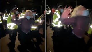 video: Sarah Everard vigil: Met Police chief refuses to apologise for officers' actions on Clapham Common