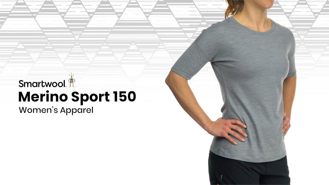 Smartwool Mens Merino Sport 150 Go Far Feel Good T-Shirt