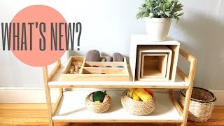 What's New in Our Playroom? | Montessori Toddler