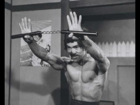 Bruce Lee vs dragon Lee nunchaku