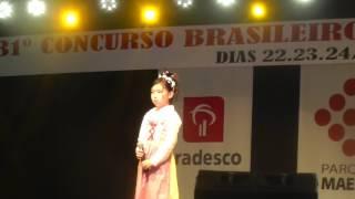 Mayumi Shinde 31º Concurso Brasileiro Da Canção Japonesa Abrac
