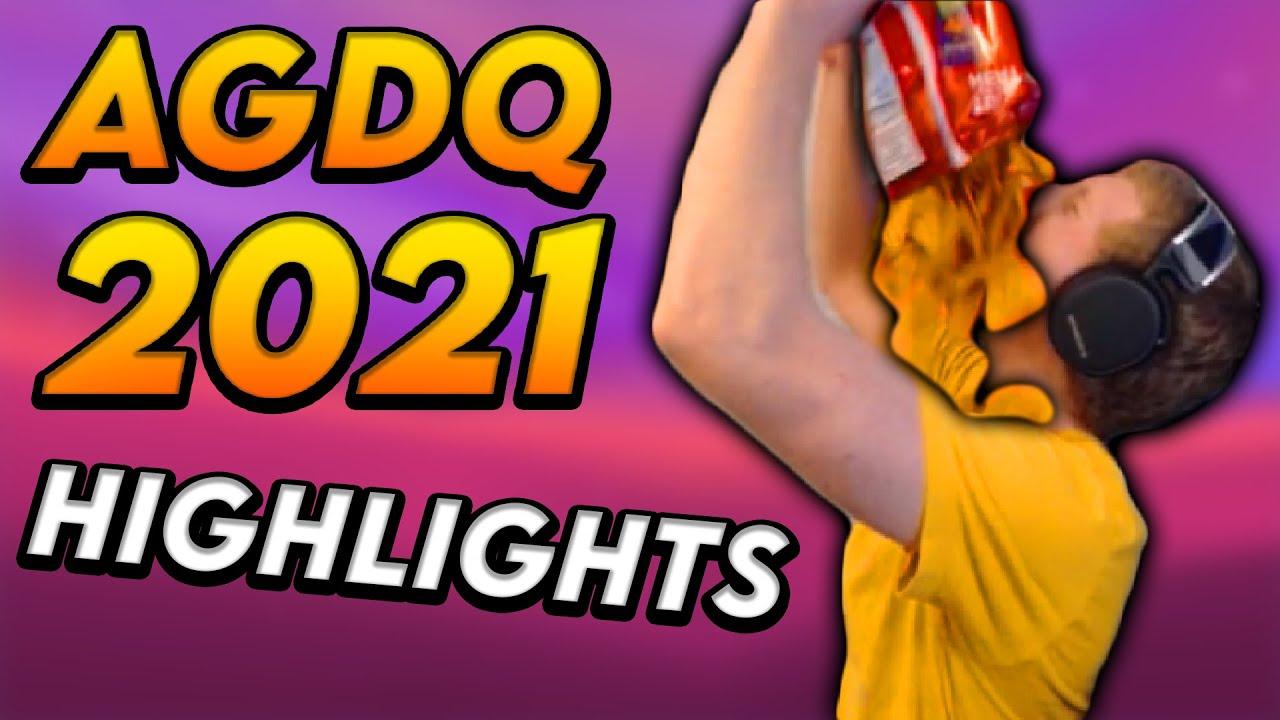 AGDQ 2021 - Funny Moments + Highlights + Cringe