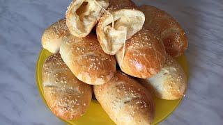Самые вкусные пирожки Печёные пирожки с сыром Рецепт вкусного теста Рецепт пирожков в духовке