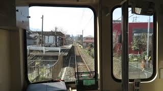 上信電鉄200形 上州富岡→上州一ノ宮 前面展望