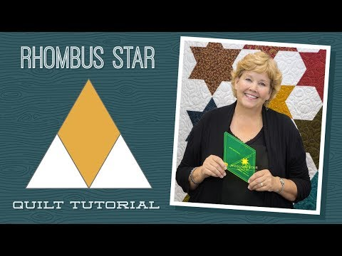 Make a Rhombus Star Quilt With Jenny!