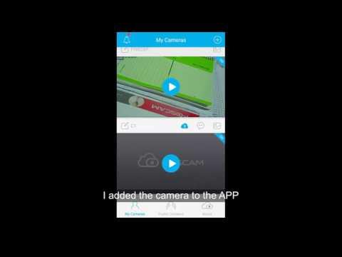 Foscam App Video Tutorial: How To Setup The WIFI On App Foscam