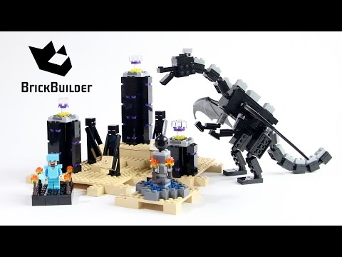 Lego Minecraft 21117 The Ender Dragon Lego Speed Build Youtube