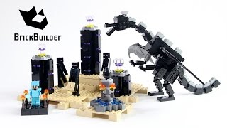 Lego Minecraft 21117 The Ender Dragon - Lego Speed Build