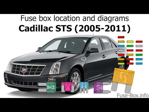Fuse box location and diagrams: Cadillac STS (2005-2011) - YouTubeYouTube