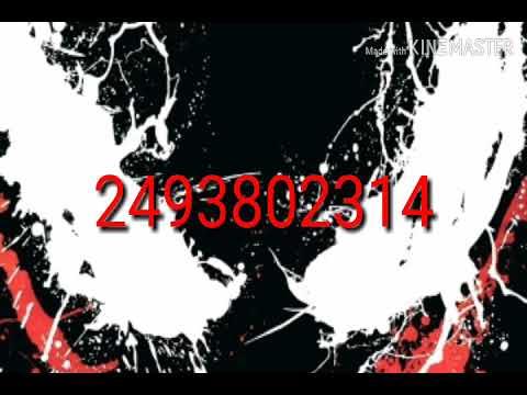 Venom Id Code For Roblox Youtube