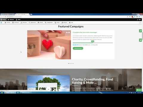 Gofunded - Charity, Crowdfunding & Fund Raising Drupal 8 Theme Introduce update.