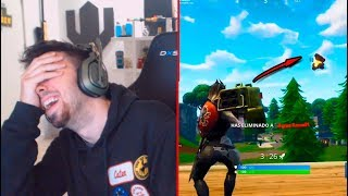 LE PLUS CRACK DE TOUS LES FORTNITE! Réagir FAILS/WINS