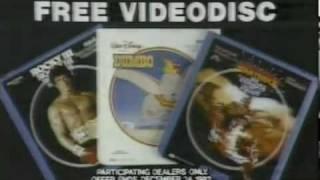 RCA Videodisc TV Ad (1983)
