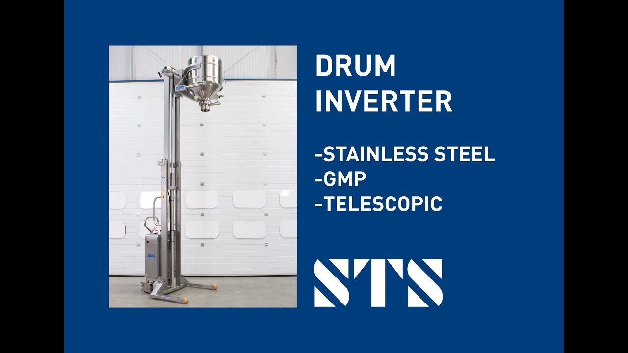 Drum Inverter for Pharmaceutical Area (Model: STE04-RRM03-SS)